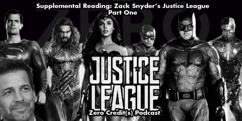 Featured Art for Part One of Our Supplemental Reading on Zack Snyder's Justice League