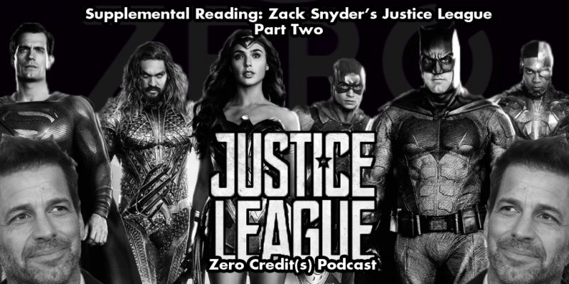 Episode image for the Supplemental Reading of Zack Snyder's Justice League