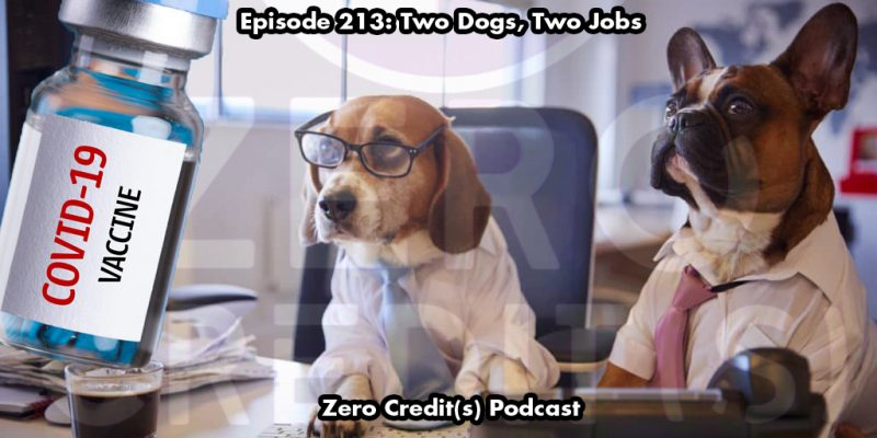 Image for episode 213, two dogs, two jobs