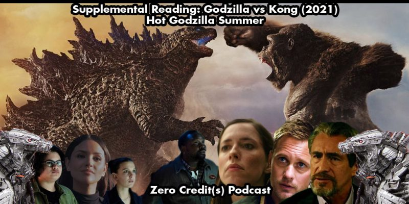 Episode art for the Supplemental Reading of Godzilla vs Kong